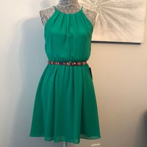 NWT Green Party Dress